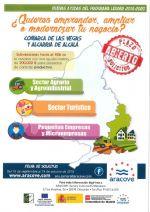 CONVOCATORIA DE SUBVENCIONES LEADER 2/2018 PARA LA COMARCA DE LAS VEGAS Y LA ALCARRIA DE ALCALÁ