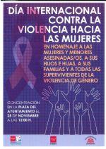 DÍA 25 DE NOVIEMBRE DE 2019: DÍA INTERNACIONAL CONTRA LA VIOLENCIA HACIA LAS MUJERES